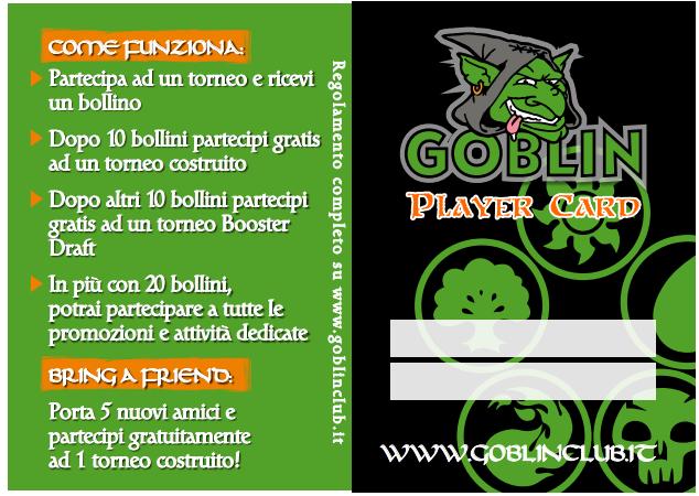 Promozione Goblin Tournament Card