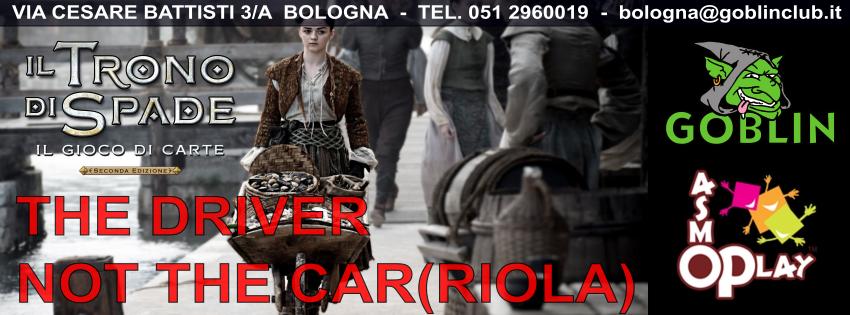 """Il Trono di Spade – Torneo """"The Driver, Not the Car(riola)"""""""