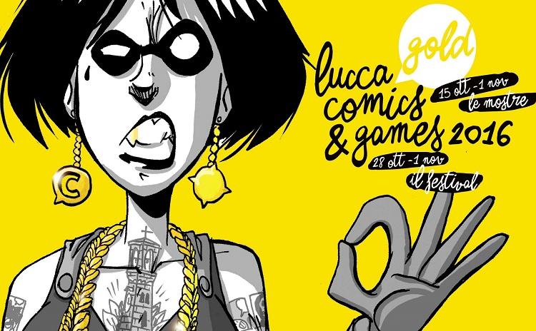 IN VIAGGIO PER LUCCA COMICS 2016