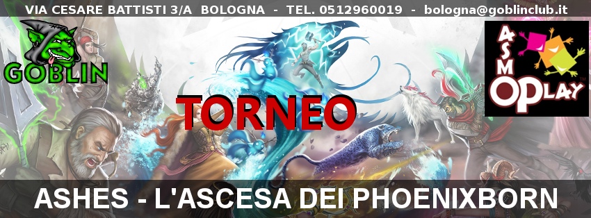 Ashes – Torneo