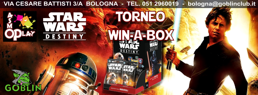 Star Wars Destiny: Torneo Win-a-Box