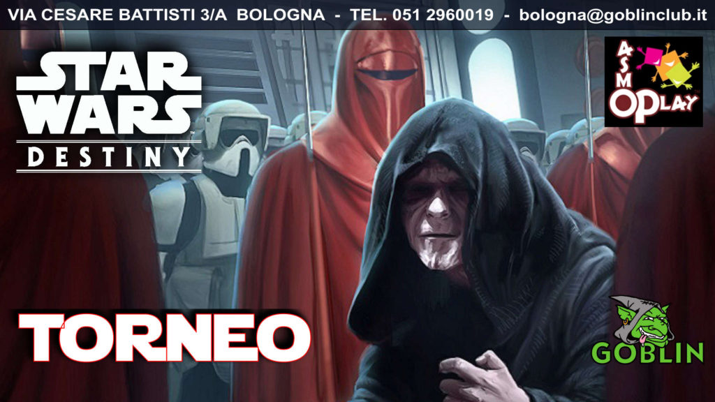 "Star Wars Destiny: Torneo ""Passa al Lato Oscuro"" (kit Q2)"