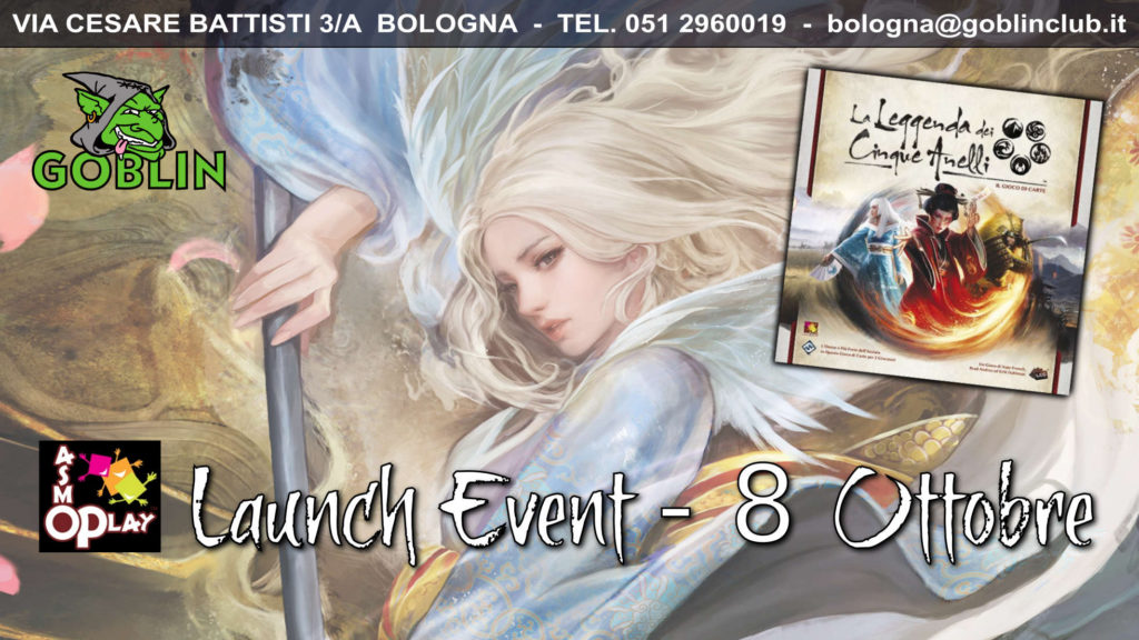 Legend of the Five Rings LCG: Launch Event