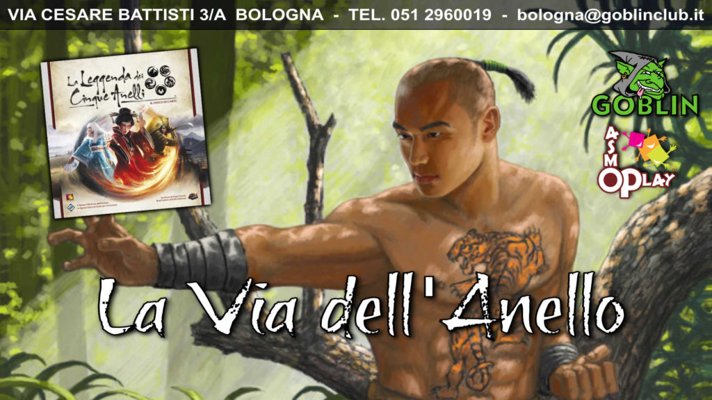 Legend of the Five Rings LCG: Torneo – Via dell'Anello