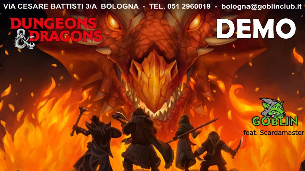 Dungeons and Dragons (D&D) 5° edizione: partita DEMO