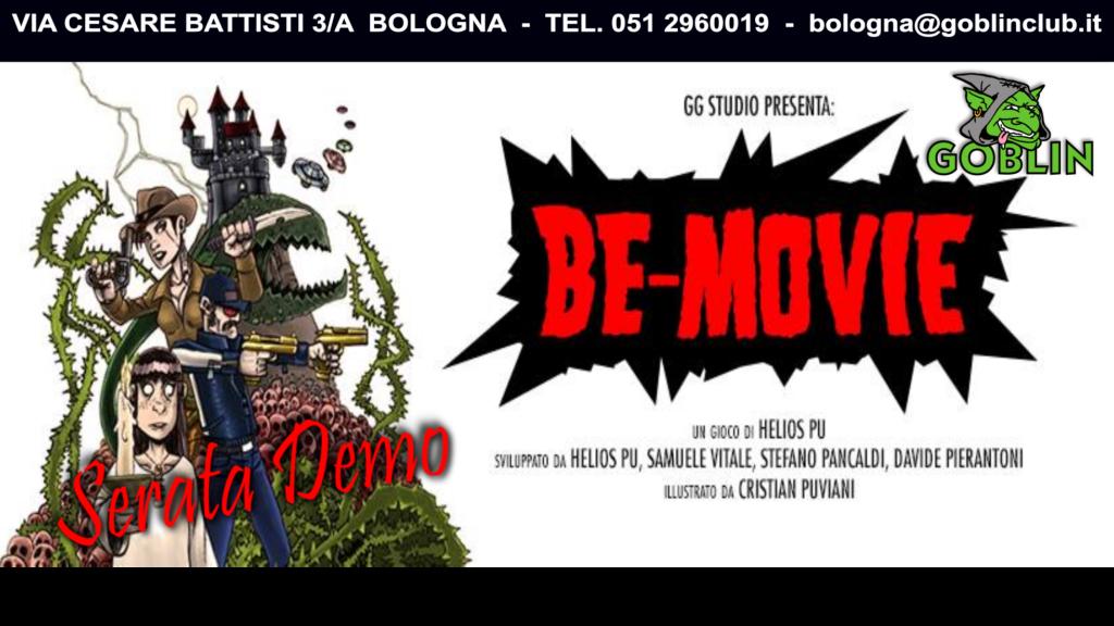 Be-Movie: serata demo