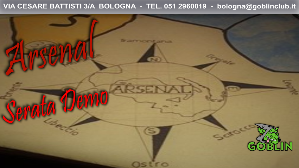 Arsenal: serata demo!