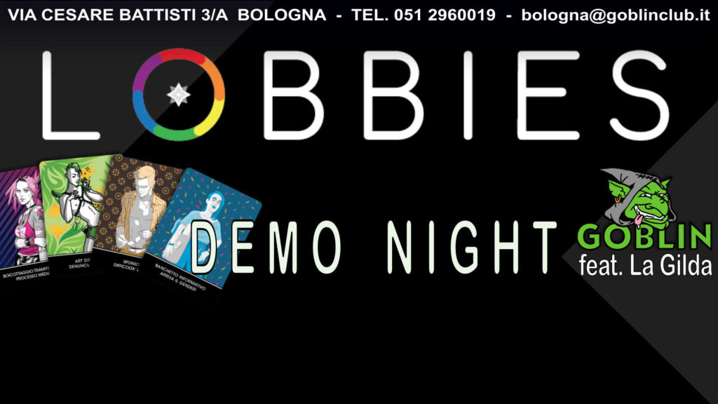 LOBBIES – Serata Demo