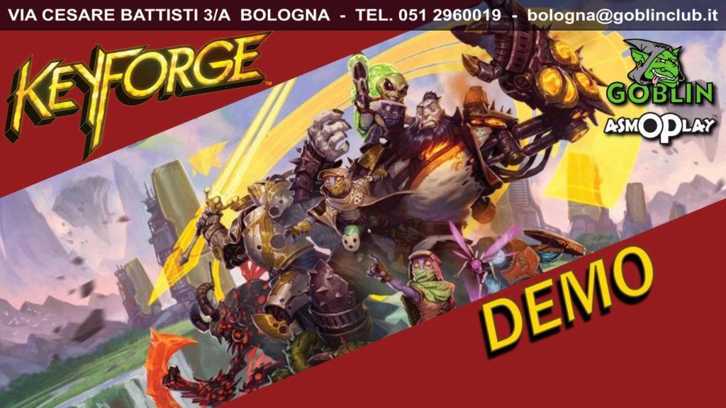 KeyForge: Demo in Anteprima