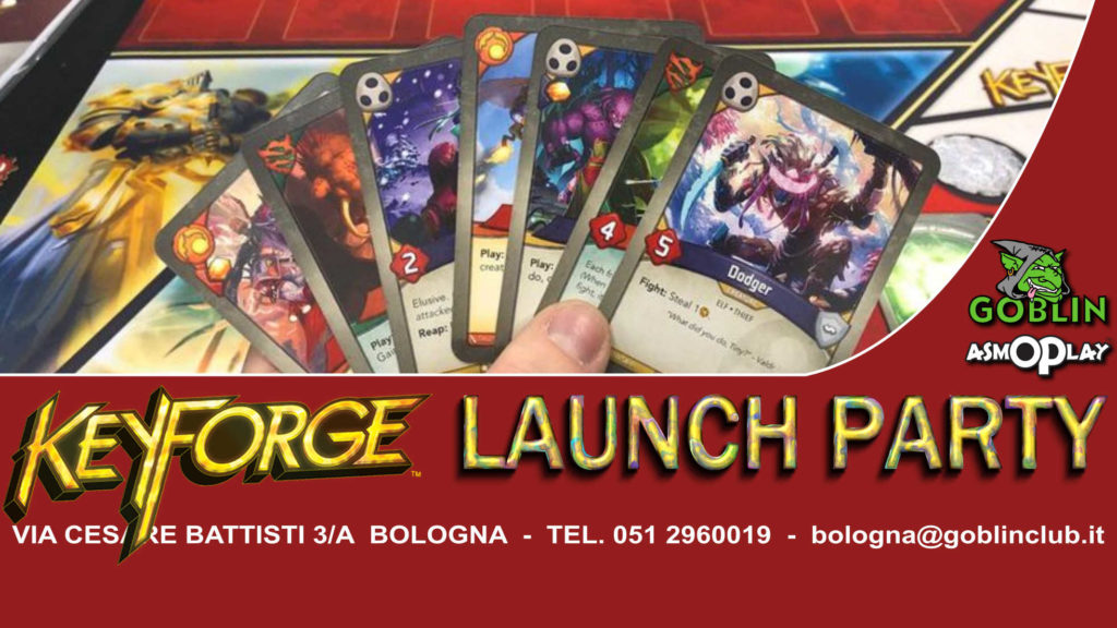 KeyForge: Launch Party (Sabato)