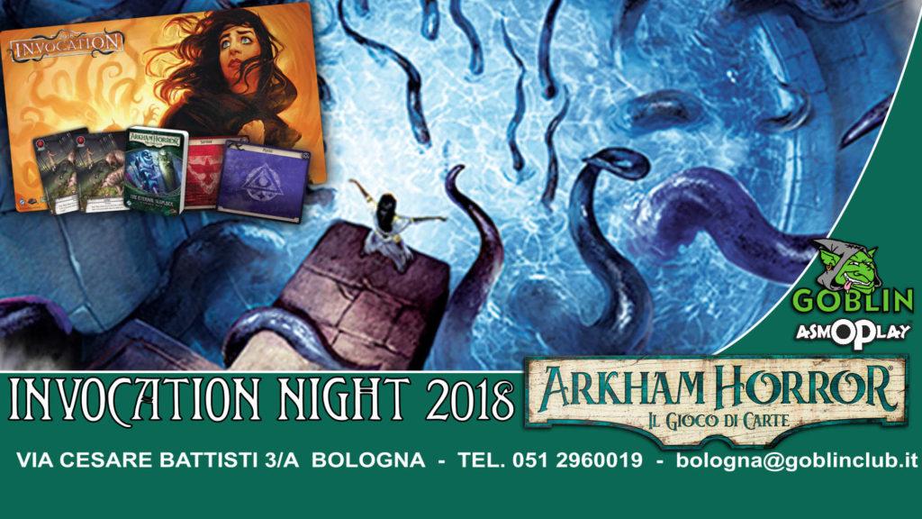 Arkham Horror LCG: Invocation Night 2018
