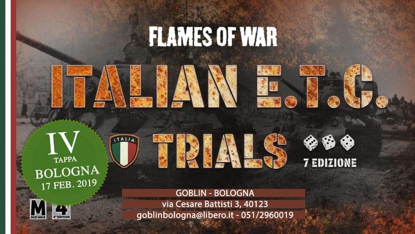 FOW: Italian European Team Championship Trials 4° Tappa
