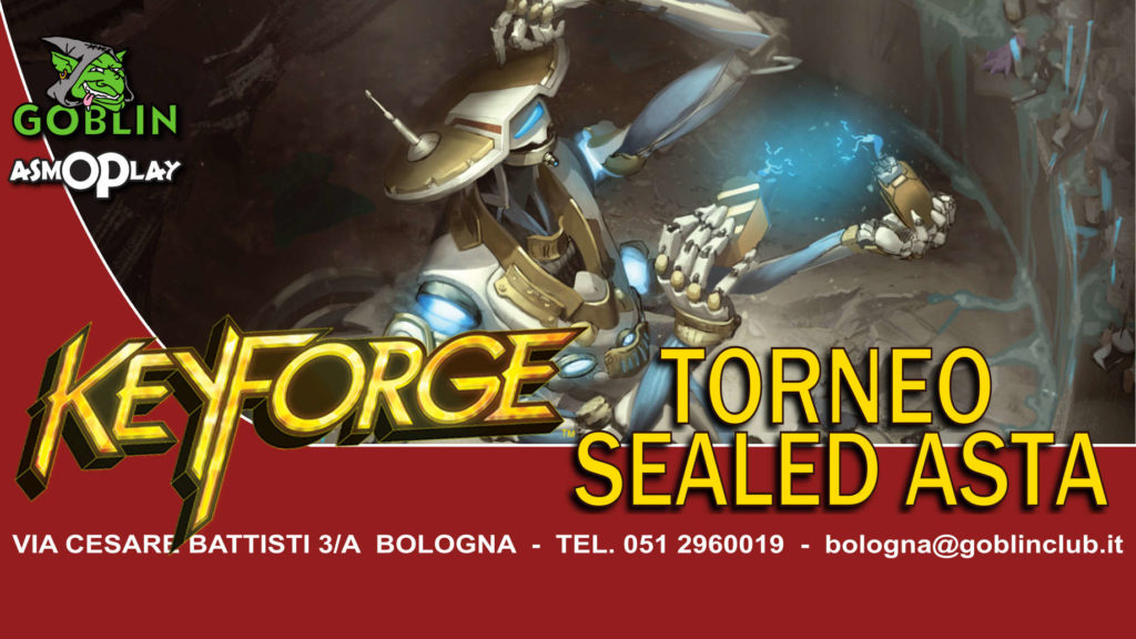 Keyforge: Torneo Sealed con Asta