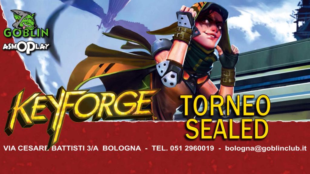 """Keyforge: Torneo Sealed """"Chainbound"""""""