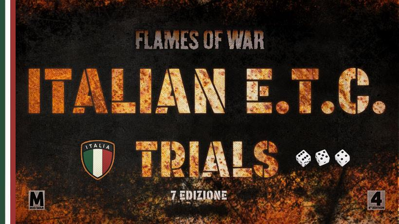 FOW: Italian European Team Championship Trials 6° Tappa