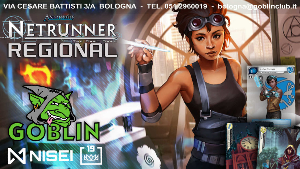Netrunner Regional – Bologna