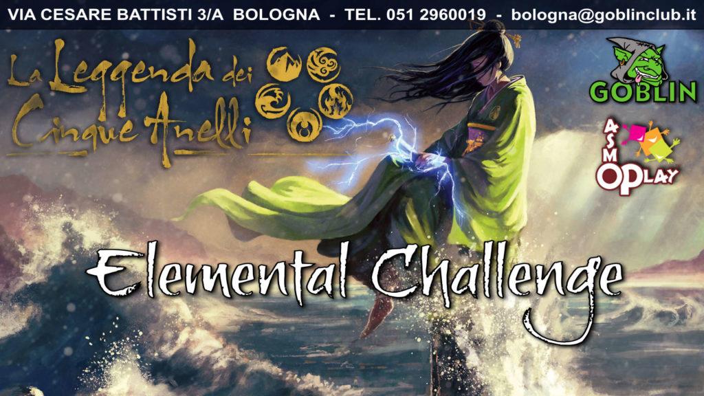 La Leggenda dei Cinque Anelli: Elemental Challenge