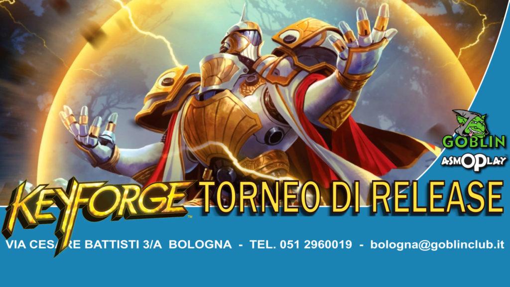 """Keyforge: Release Era dell'Ascensione Torneo Sealed """"Chainbound"""""""