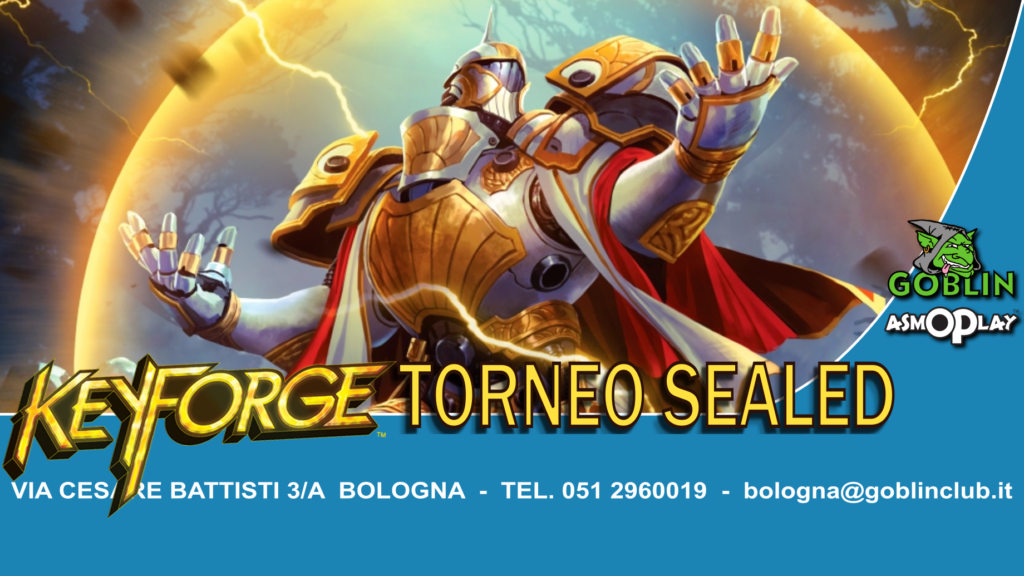 KeyForge: torneo sealed chainbound