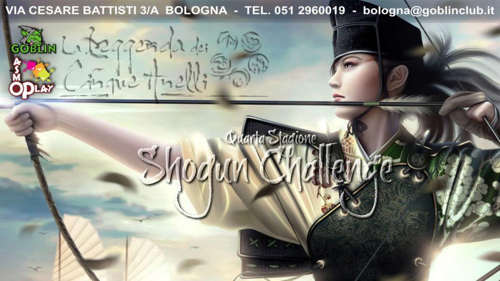 La Leggenda dei Cinque Anelli – Shogun Challenge (season 4)