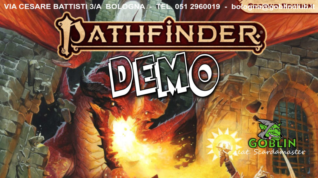 Pathfinder: second edition – DEMO