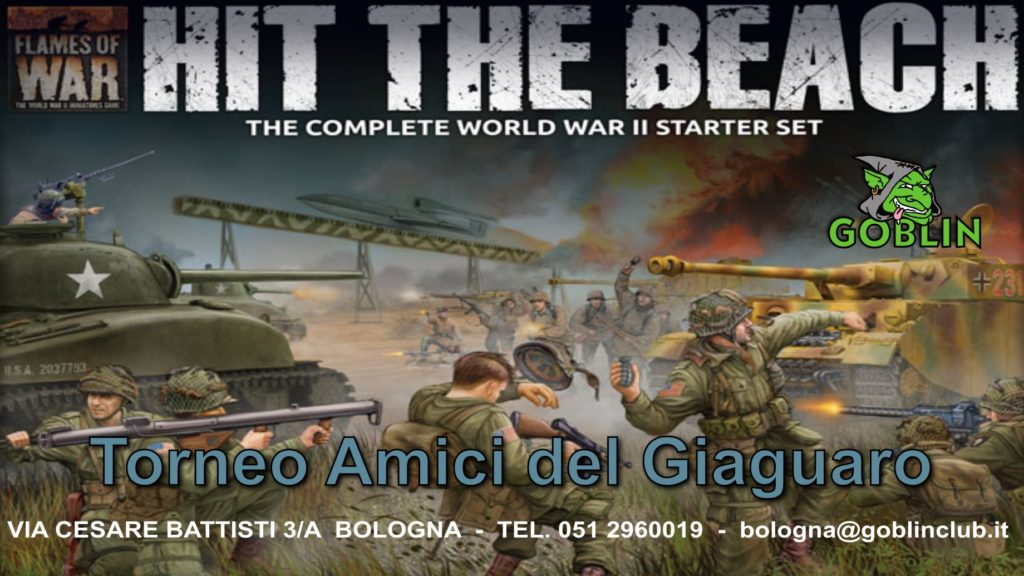 II Torneo Flames of War: Amici del Giaguaro