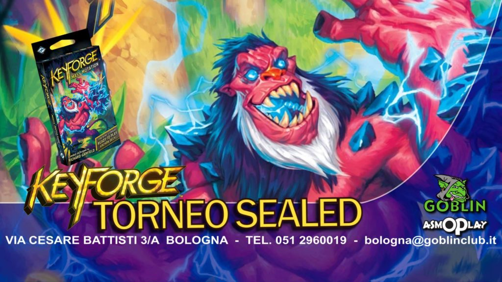 Keyforge – Torneo Weekly Sealed