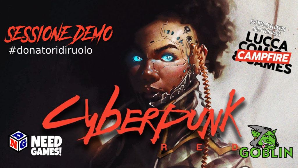 Lucca Changes: Cyberpunk Red #donatoridiruolo