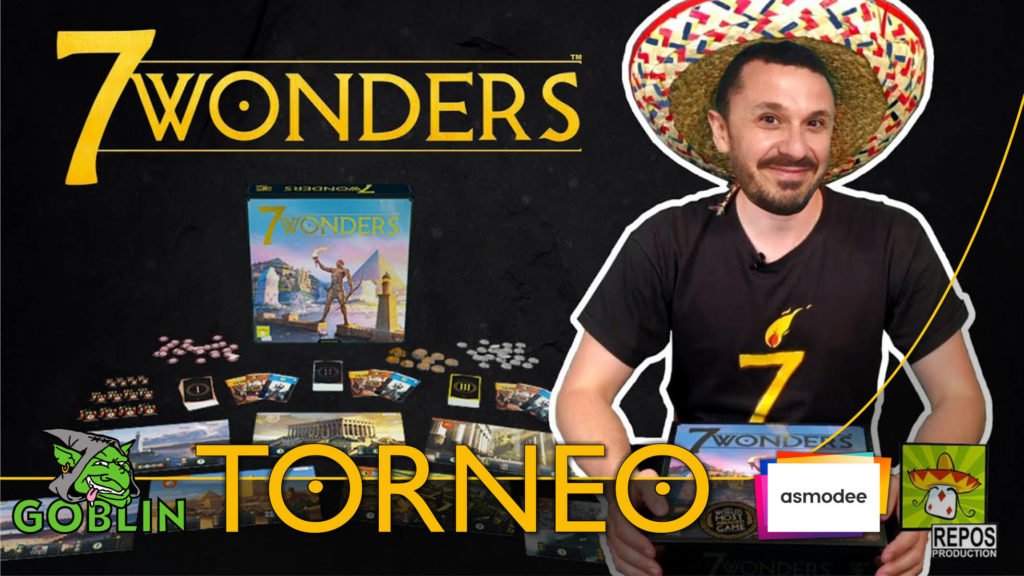 Lucca Changes – Torneo di 7 WONDERS