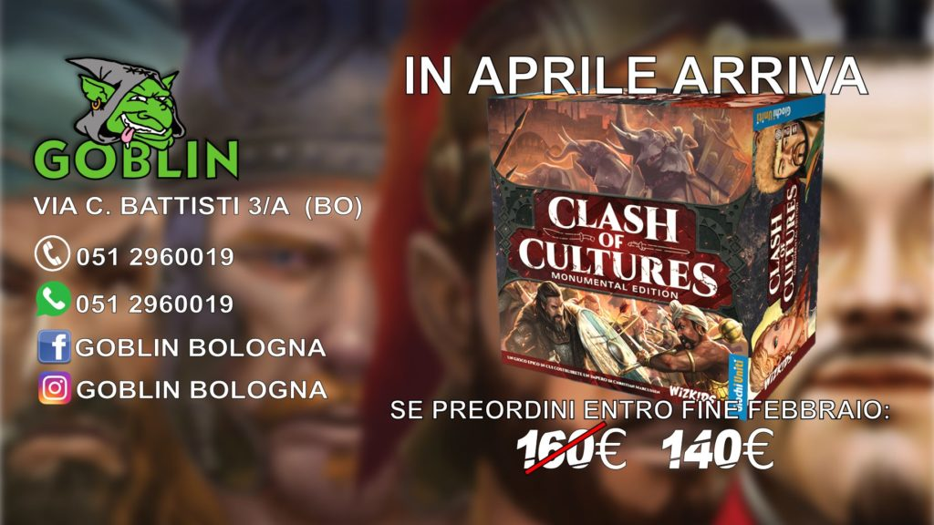 Clash of Cultures – Monumental Edition in uscita a aprile