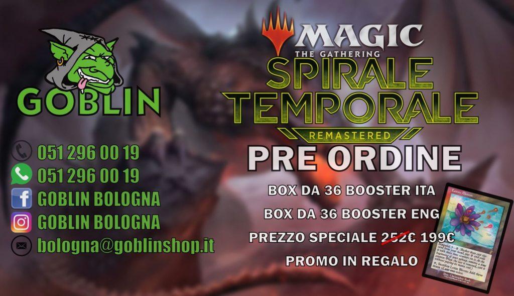 Magic: Spirale Temporale Remastered – Preordine