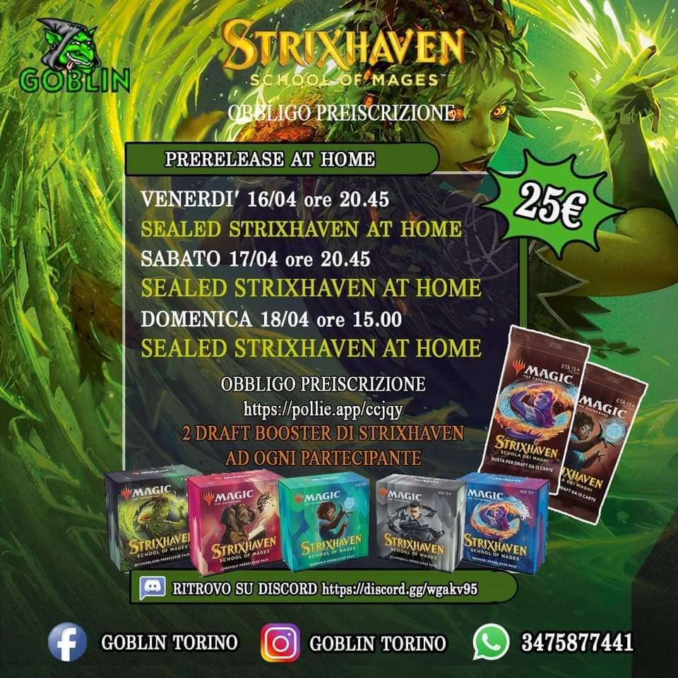 Pre-Release Strixhaven at Home